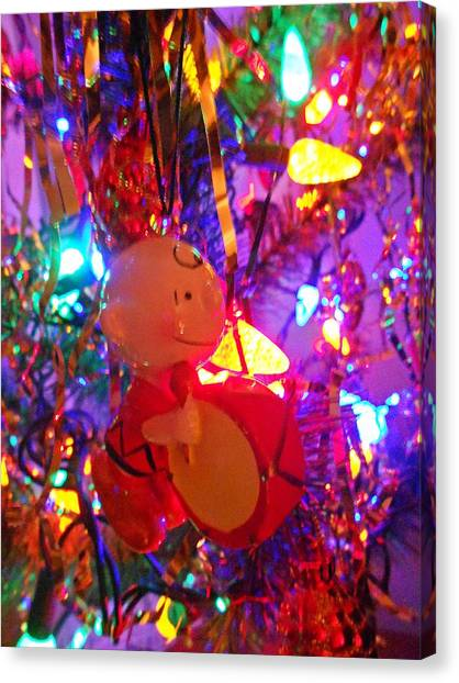 charlie brown christmas canvas print charlie brown christmas by dianna jackson