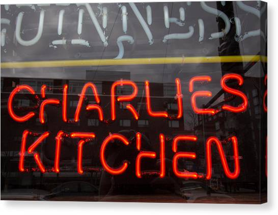 Charlies Kitchen Canvas Print