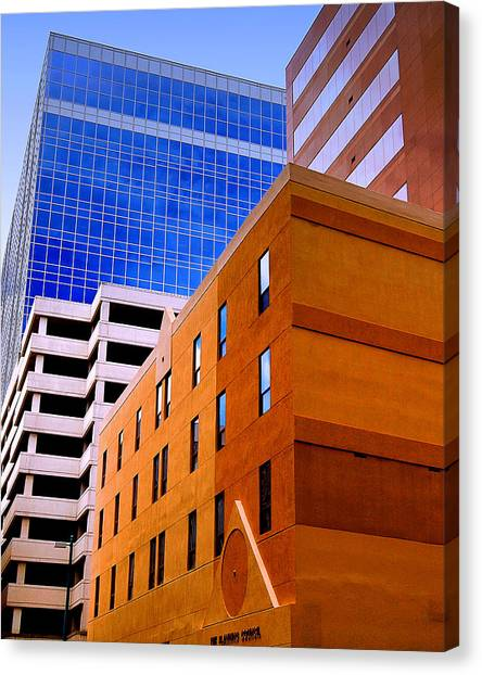 Charlotte Abstract Canvas Print