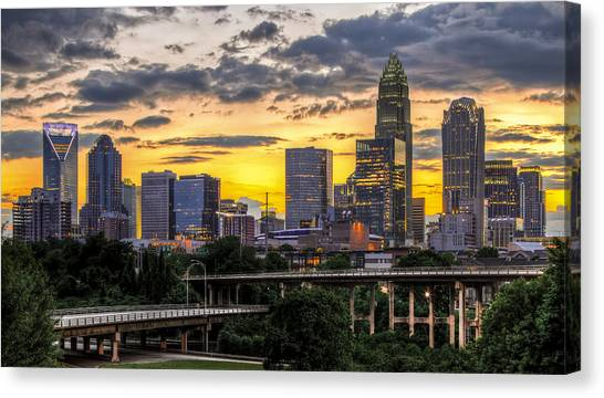 Austin Canvas Print - Charlotte Dusk by Chris Austin