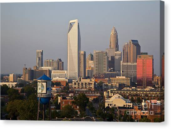 Charlotte In The Late Afternoon Canvas Print