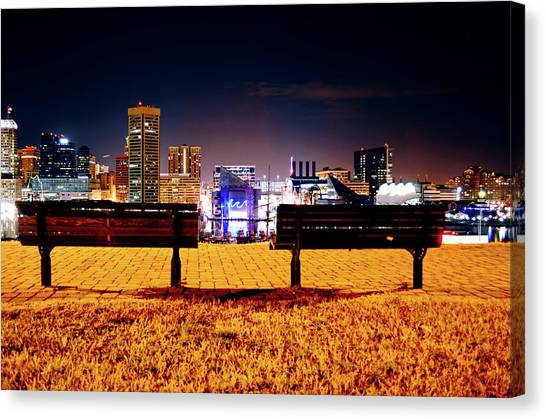 Charm City View Canvas Print