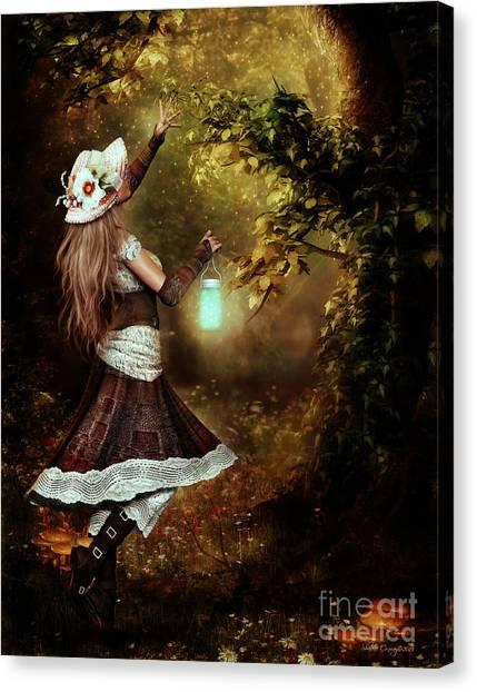 Chasing Magic Canvas Print by Shanina Conway