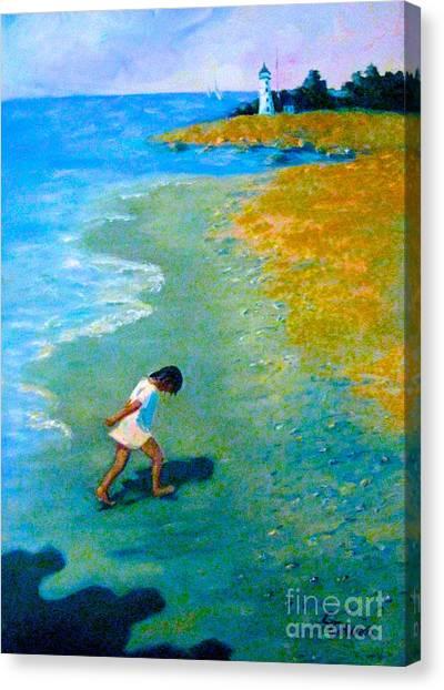 Chasing Shadows - 4 Canvas Print
