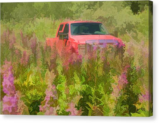 Chasing Wildflowers Canvas Print