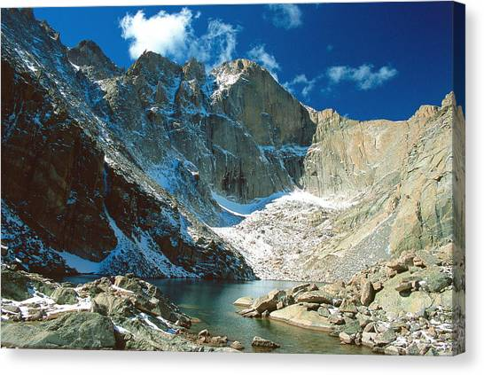 Colorado Rockies Canvas Print - Chasm Lake by Eric Glaser