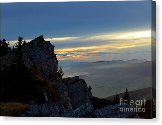 Chasseral Overlook Canvas Print