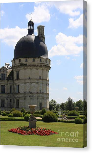 Chateau De Valencay Canvas Print by Christiane Schulze Art And Photography