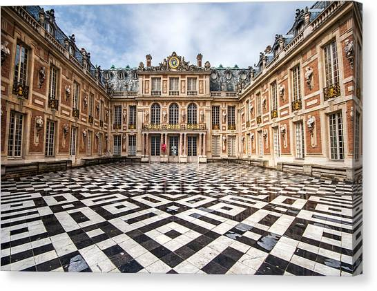 Chateau Versailles France Canvas Print