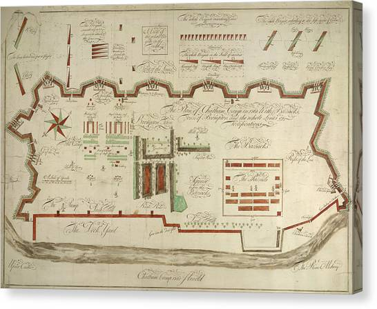 Chatham Canvas Print - Chatham Camp by British Library