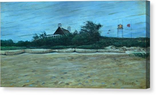 Chatham Canvas Print - Chatham Lighthouse by Erik Schutzman