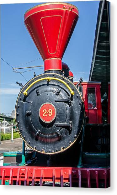 Chattanooga Choo Choo Steam Engine Canvas Print