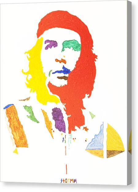Missles Canvas Print - Che Guevara by Stormm Bradshaw
