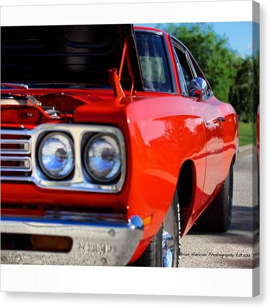 Roadrunner Canvas Print - Check Out This 1969 Roadrunner! She's by Brian Havican