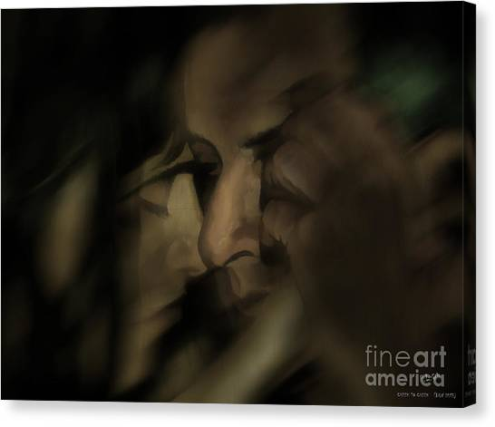 Cheek To Cheek Canvas Print