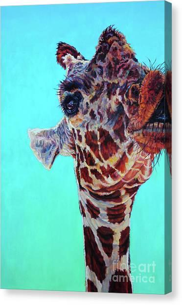 Cheeky Gina Canvas Print