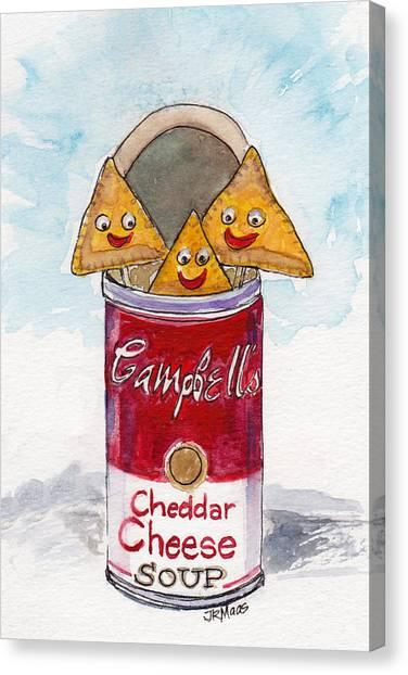 Kinda Cheesy  Canvas Print