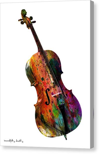 Cellos Canvas Print - Chello by Mark Ashkenazi