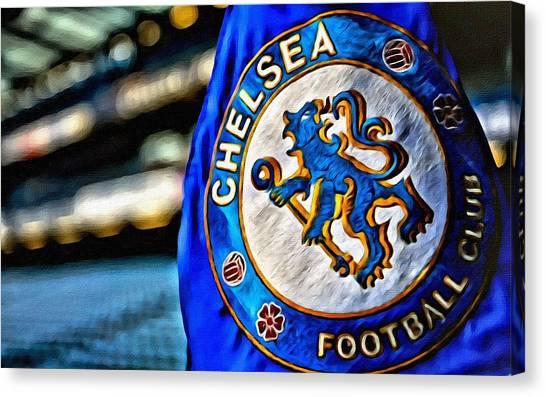 Stamford Bridge Canvas Print - Chelsea Football Club Poster by Florian Rodarte