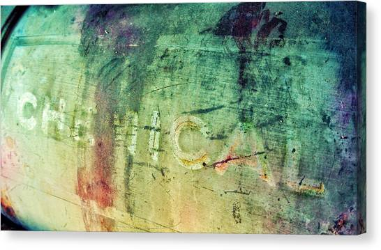Drywall Canvas Print - Chemical  by Starlux  Productions
