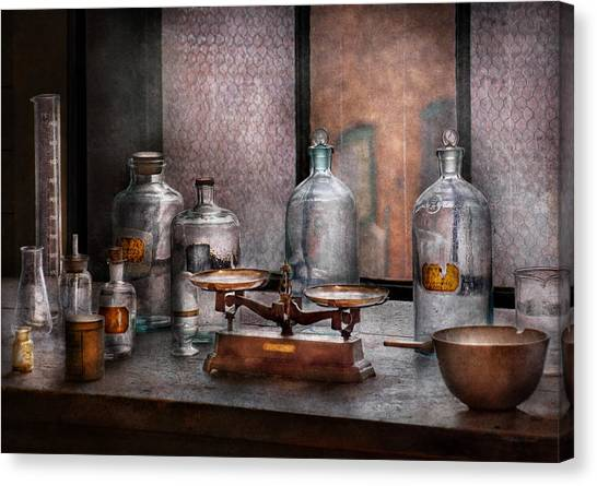 Biologist Canvas Print - Chemist - The Art Of Measurement by Mike Savad