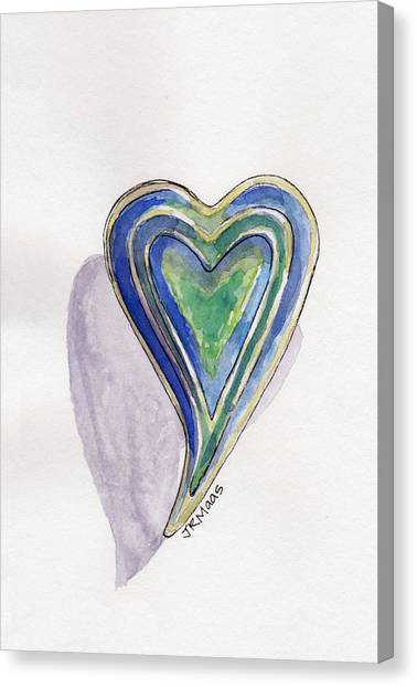 Cherished Heart Canvas Print