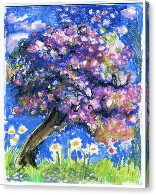 Cherry Blossom Spring. Canvas Print