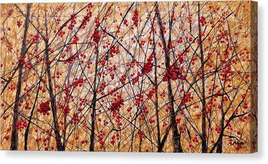 Cherry IIi Canvas Print