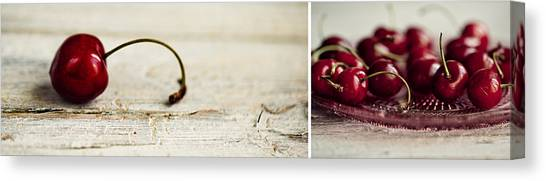 Wide Canvas Print - Cherry by Nailia Schwarz