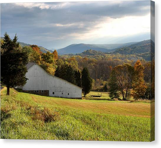Cherry Valley Farm Canvas Print