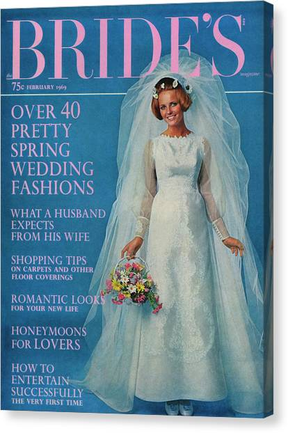 Cheryl Tiegs Wearing A Wedding Dress By Edythe by Another Studio