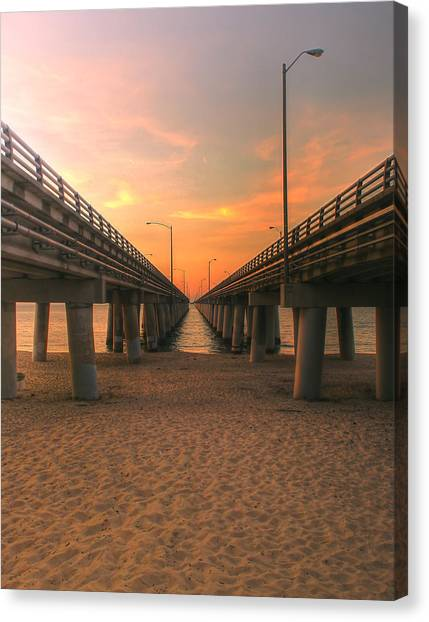 Chesapeake Bay Bridge IIi  Canvas Print