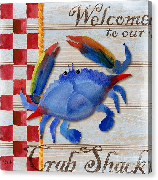 Lobster Canvas Print - Chesapeake Crab by Paul Brent