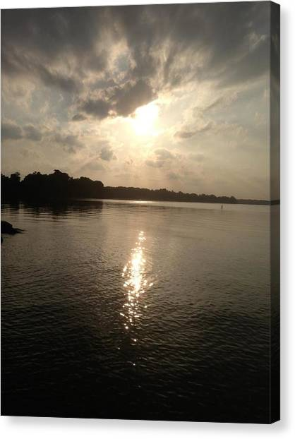 Chesapeake Sunset Canvas Print