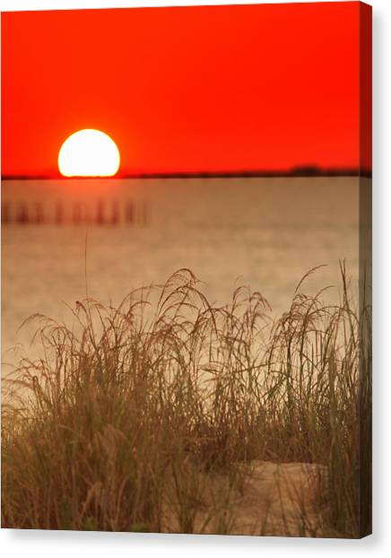Chesapeake Sunset Canvas Print