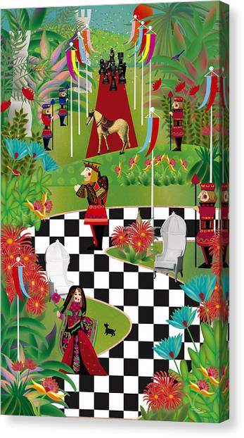Chess Festival - Limited Edition 2 Of 20 Canvas Print