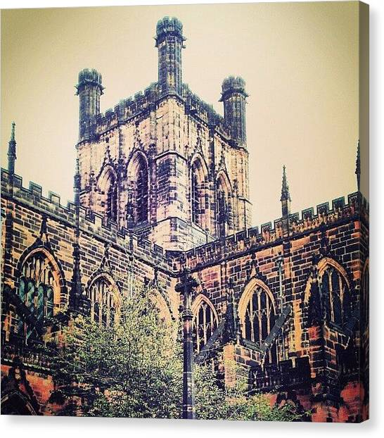 Europa Canvas Print - #chester #cathedral #england #uk by Lee-scott Gardiner