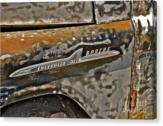 Chevrolet Apache Canvas Print