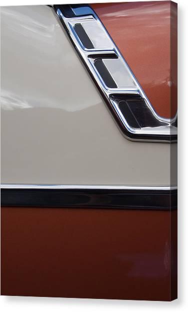 Chevrolet Bel Air Canvas Print by W Chris Fooshee