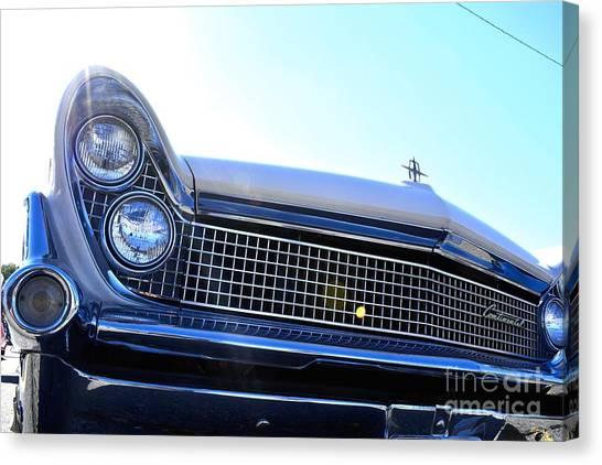 Chevrolet Blue  Canvas Print by LLaura Burge