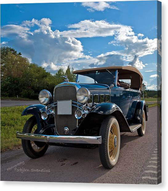 Chevrolet Confederate Ba Phaeton 1932 Canvas Print