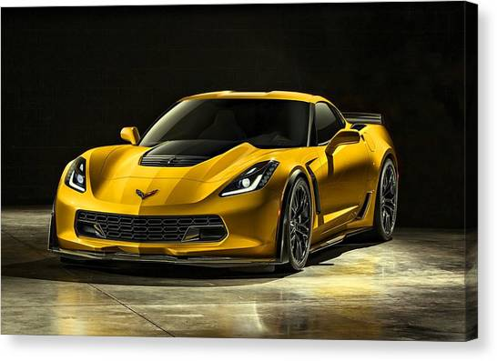 Chevrolet Corvette Z06  Canvas Print