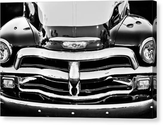Chevy Pickup Canvas Print - Chevrolet Pickup Truck by Jill Reger