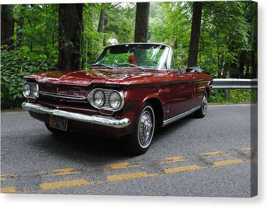 Chevy Corvair Canvas Print