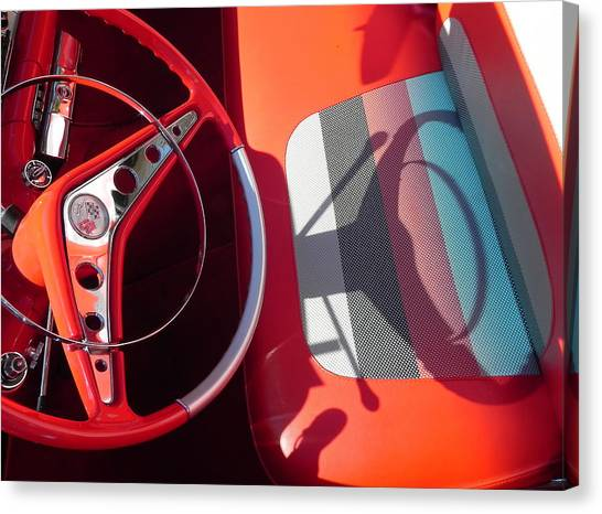 Chevy Impala Canvas Print