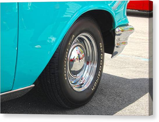 Chevy Reflection Canvas Print