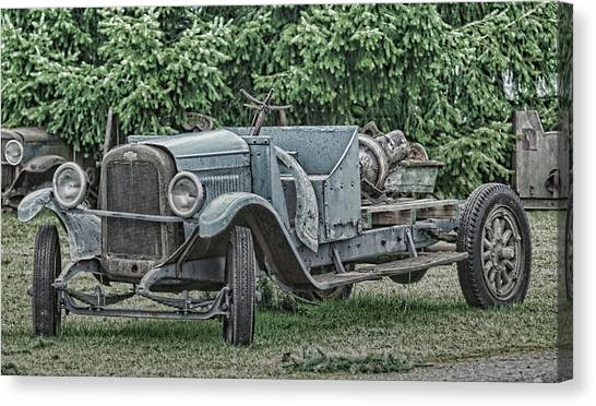 Chevy Truck By Ron Roberts Canvas Print