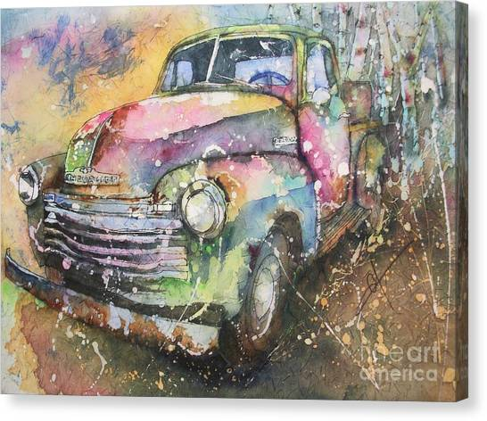 Chevy Truck Canvas Print