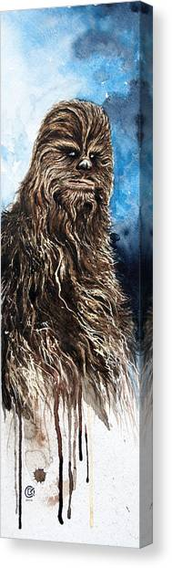 Chewbacca Canvas Print - Chewbacca by David Kraig
