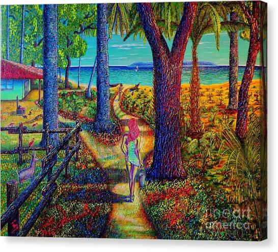 Chez Les Amazons Canvas Print